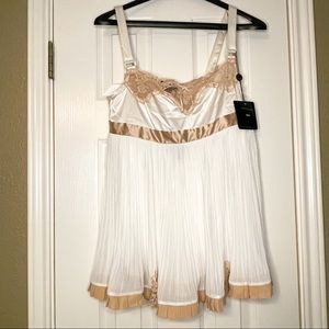 VS Pleasure State Couture Babydoll Nighty Size L